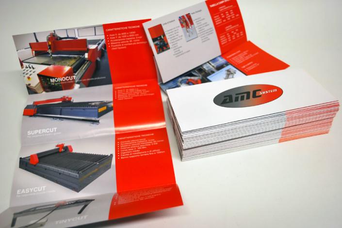 brochure pieghevoli