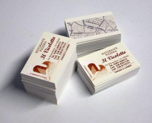 creazione biglietti visita