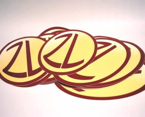 stampa etichette ovali