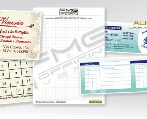 Stampa Block notes, blocchi carta copiativa Lecco