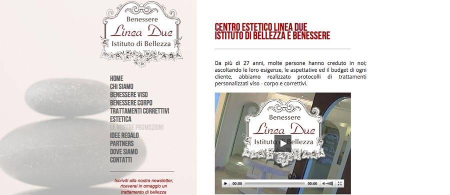 sito web centro estetico
