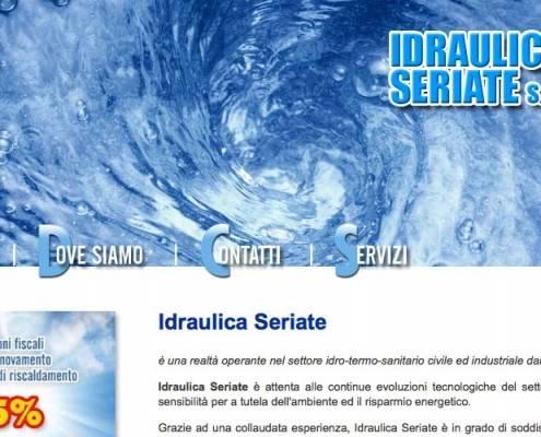 Realizzzione sito web Idraulica Seriate (Bergamo)