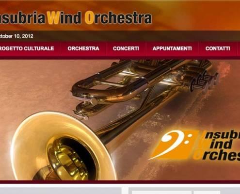 Sito web Insubria Wind Orchestra