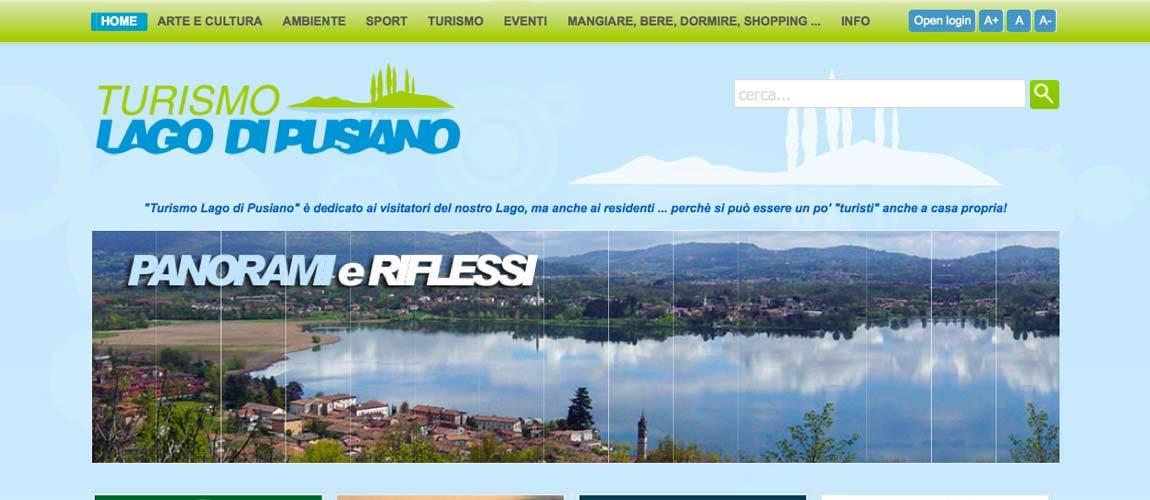 Sito internet Turismo Lago di Pusiano