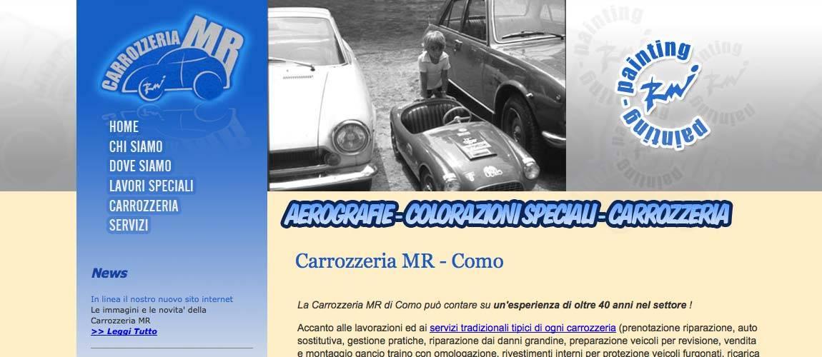 sito web carrozzeria