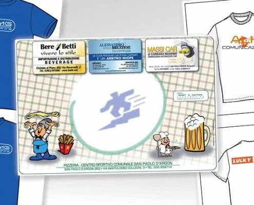 Stampa e personalizzazione T-shirt, abbigliamento promozionale, gadget e tovagliette