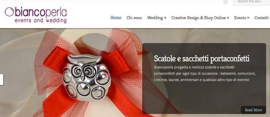 sviluppo sito web wedding planner