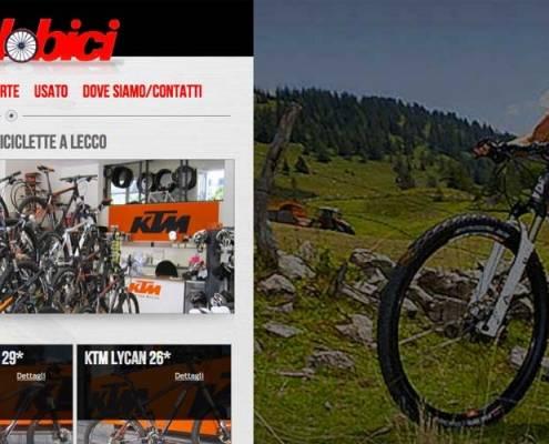 sito internet negozio biciclette