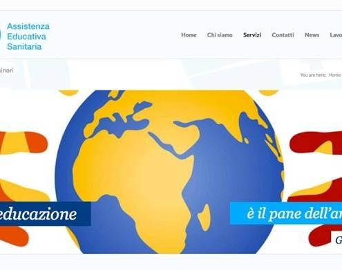 realizzazione siti web aes