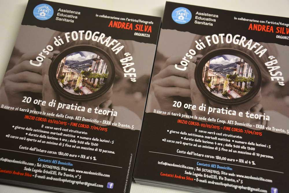 Stampa Volantini Brochure Como