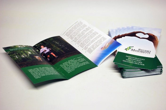 realizzazione pieghevoli brochure