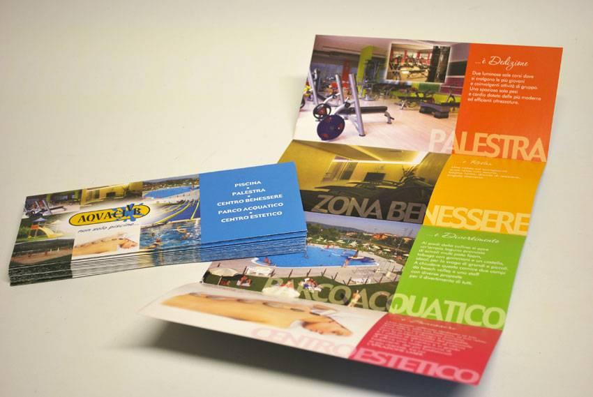 stampa brochure pieghevoli lc