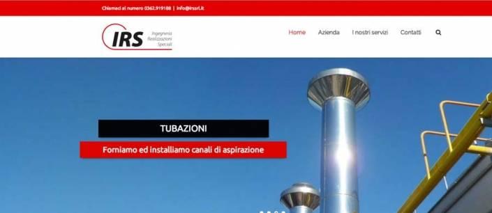 sito web azienda carpenteria