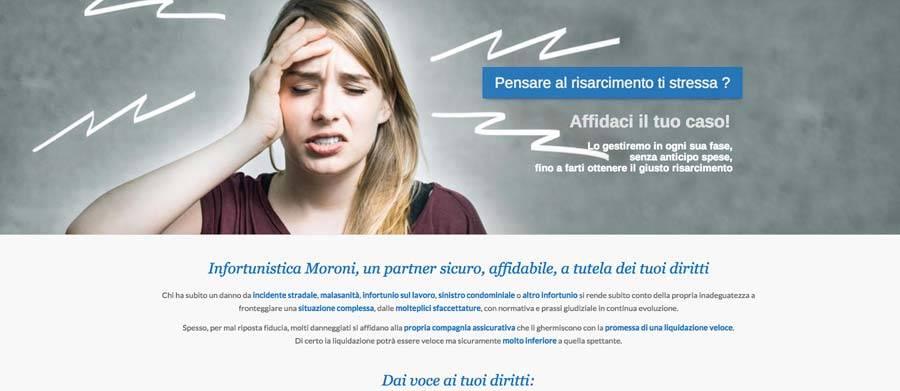 sito internet infortunistica milano