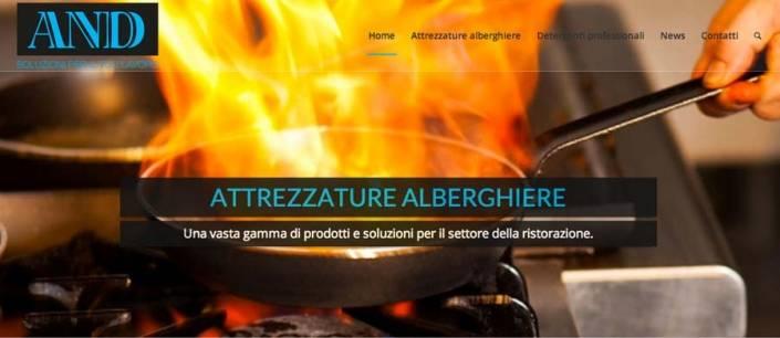 sito internet attrezzature alberghi