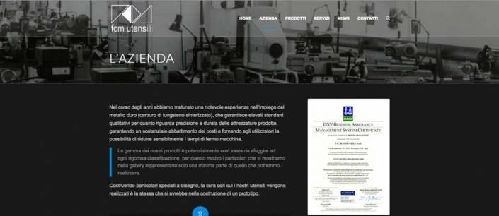Sito web Professionale Azienda Tavernerio (CO)