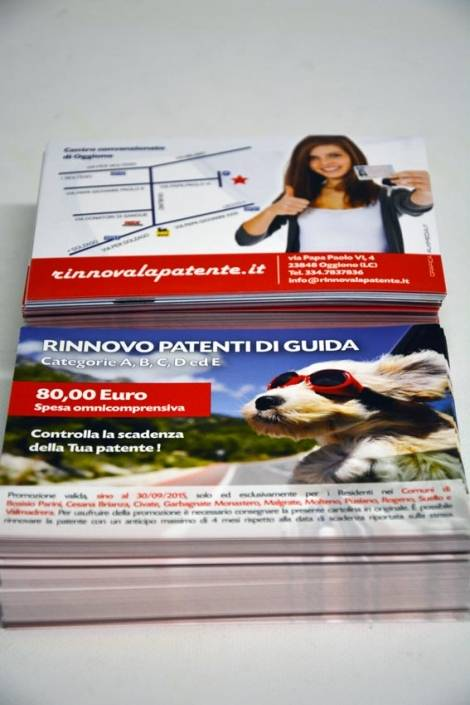 stampa cartoline digitale