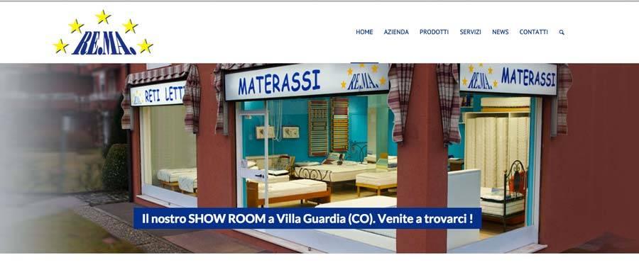 sito web materassi como