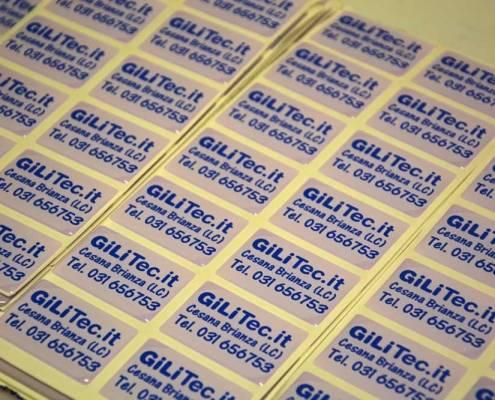 Stampa adesivi resinati Lecco