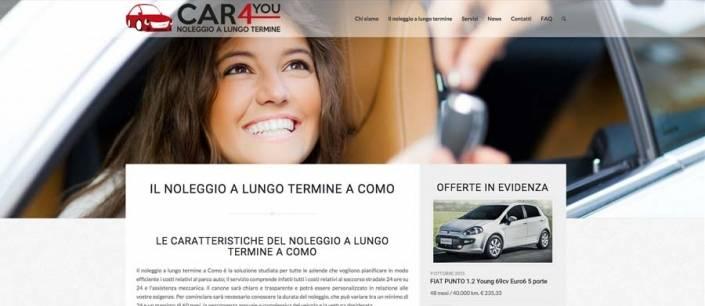 sito web noleggio a lungo termine Tremezzina Como
