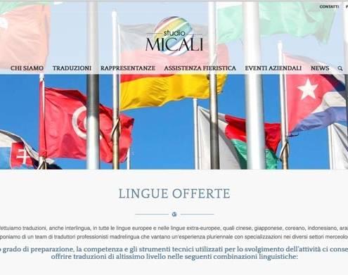 siti web servizi traduzione milano