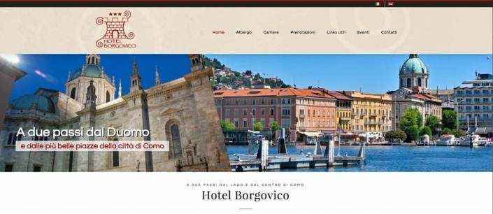 sito internet hotel como