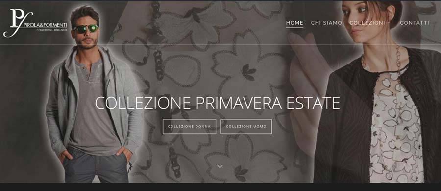 sito web negozio abbigliamento bellusco