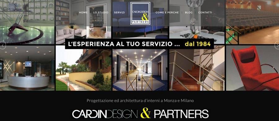 Progettazione sito web design d 39 interni cardin design monza for Siti design interni