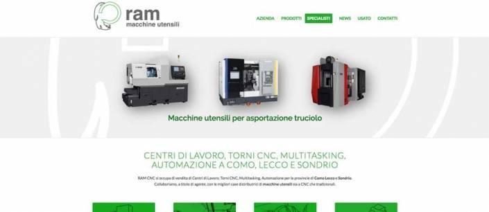 sito web macchine utensili