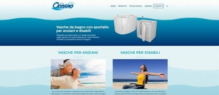 sito internet produzione vasche con sportello