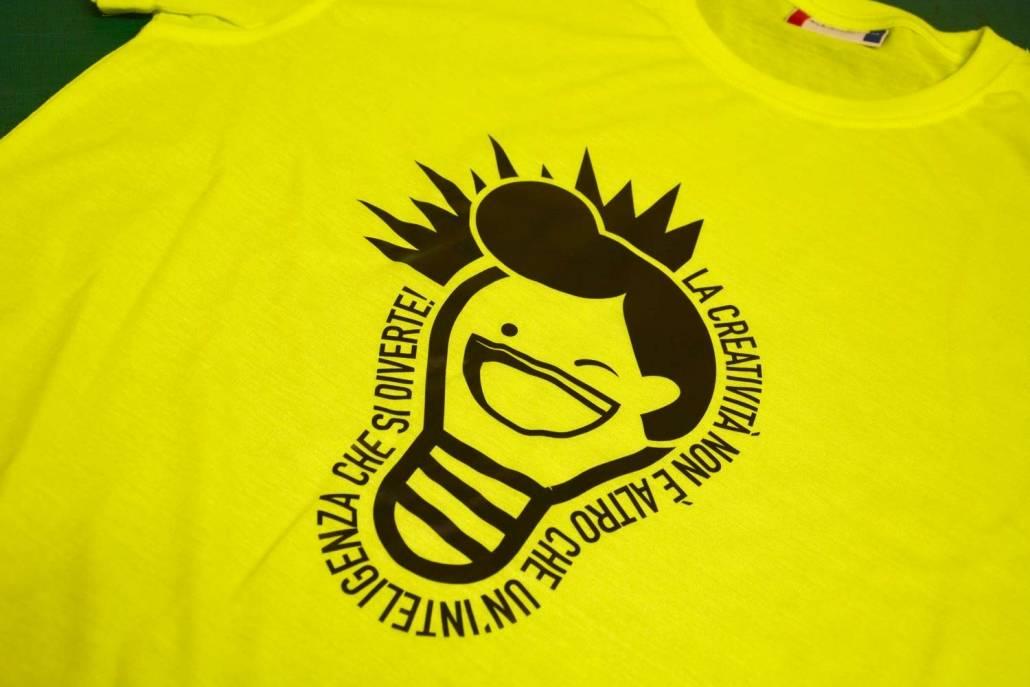 Personalizzazione magliette con grafica originale a Como