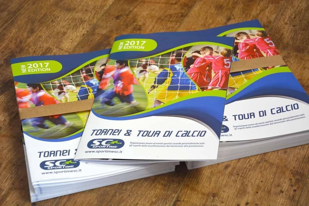 Realizzazione grafica di brochure a Lecco