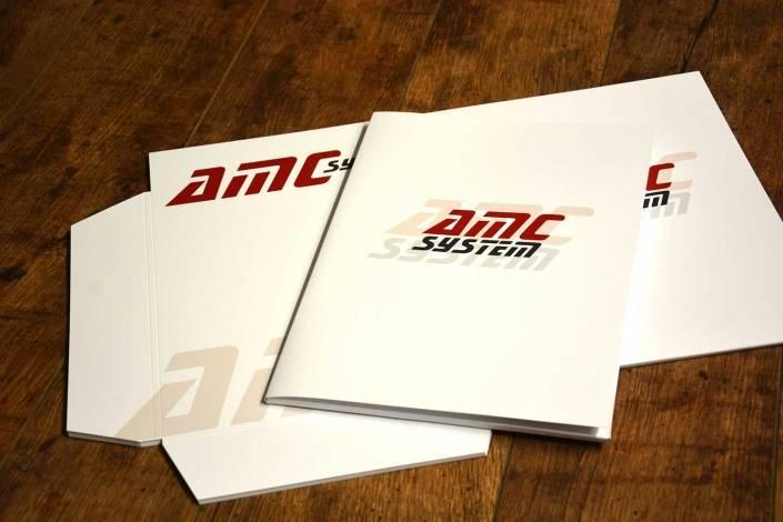 Stampa di cartellette per presentazione aziendale a Lecco