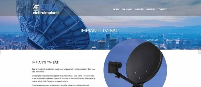 sito internet impianti elettrici mariano comense