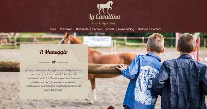 sito web agriturismo
