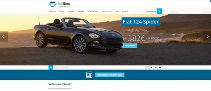 ottimizzazione sito web best rent