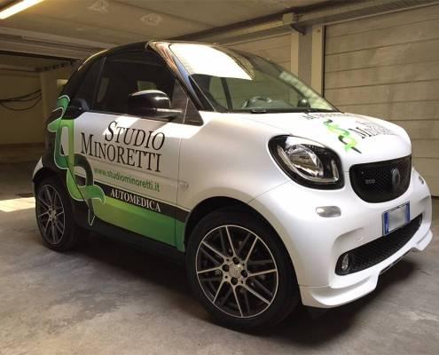 Personalizzazione auto aziendale Lecco