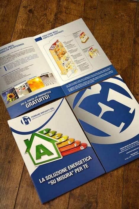 Stampa brochure a Como