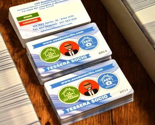 Stampa tessere plastificate a Lecco e Como
