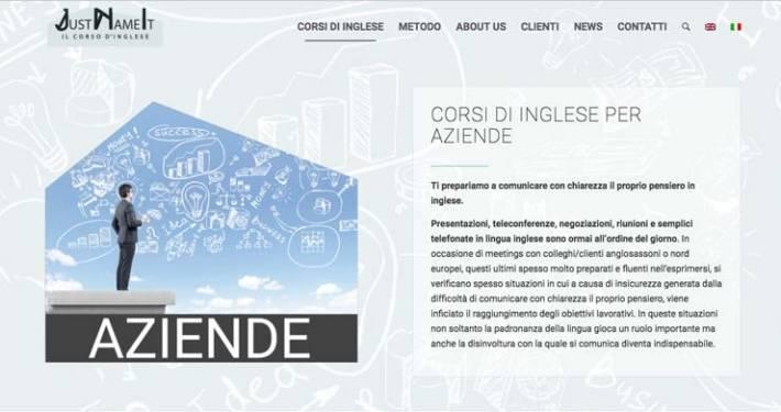 sito web scuola lingue corsi inglese