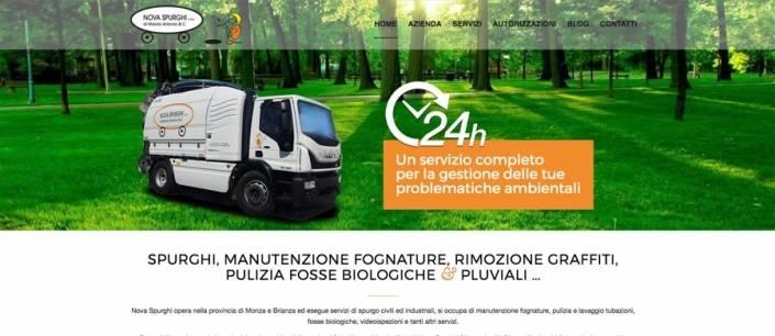 sito web azienda spurghi cesano maderno