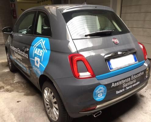 Adesivi auto aziendale Lecco Como