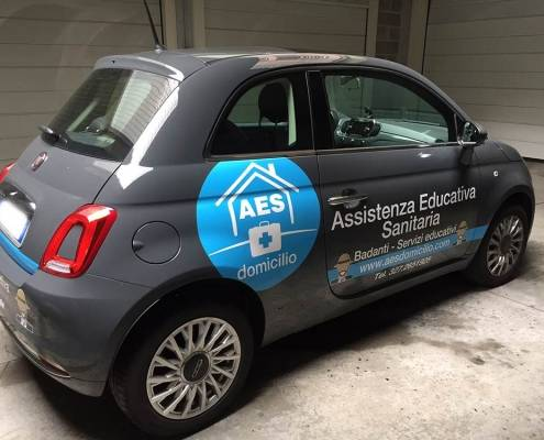 Personalizzazione auto aziendale