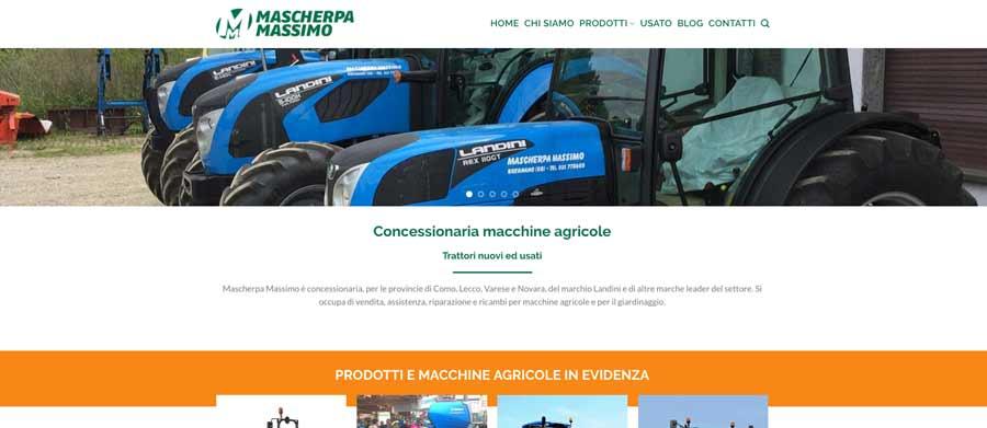 sito web concessionaria macchine agricole como