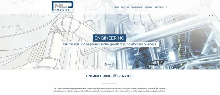 Sito web engineering bergamo
