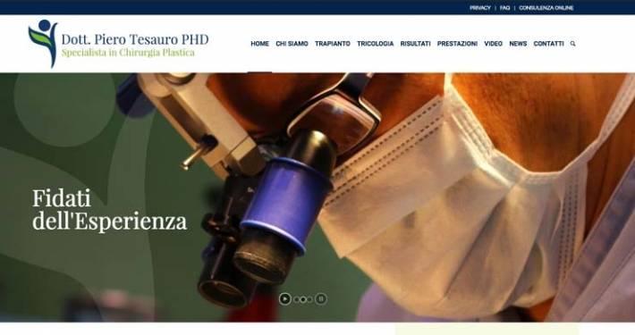 Sito web Milano Piero Tesauro