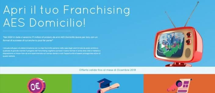Progettazione sito web franchising-AES-Domicilio