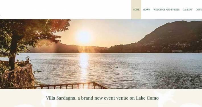 Realizzazione sito internet Lago di Como