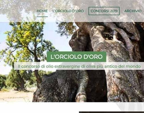 Progettazione sito web Orciolo d'oro