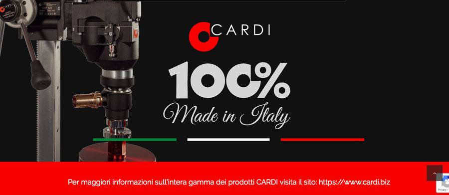 Nuovo mini sito web Diamond Pulse Tech Cardi